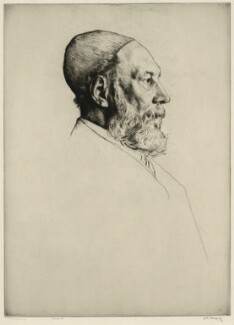 Frederick Goulding, by William Strang, printed by  David Strang - NPG D34652
