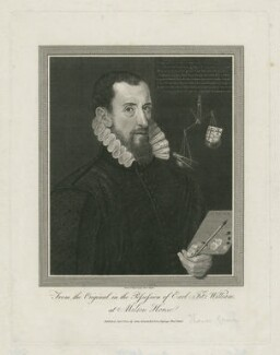 George Gower, by James Basire, published by  John Nichols, after  George Gower - NPG D34653