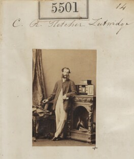 Charles Robert Fletcher Lutwidge, by Camille Silvy - NPG Ax55460