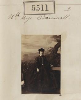 Hon. Anna Maria Louisa Elliot (née Barnewall), by Camille Silvy - NPG Ax55470