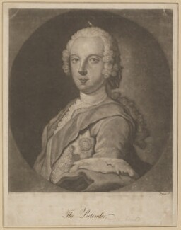 Prince Charles Edward Stuart, probably after Sir Robert Strange - NPG D34706