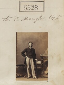 Albert Champion Mangles, by Camille Silvy - NPG Ax55485