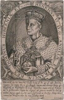 King Henry VI, by Renold or Reginold Elstrack (Elstracke), published 1638 (1618) - NPG D9405 - © National Portrait Gallery, London