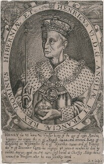 King Henry VI, by Renold or Reginold Elstrack (Elstracke) - NPG D9405