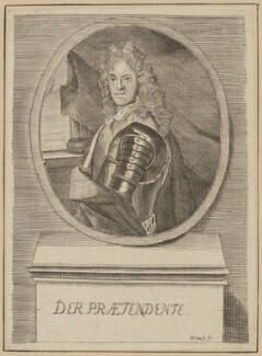 Prince James Francis Edward Stuart, by Johann Ulrich Kraus, after  Unknown artist - NPG D34710