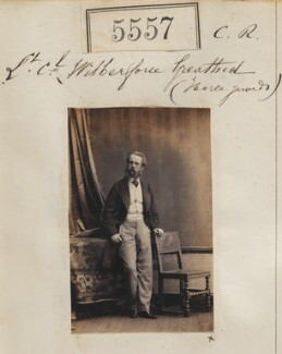 William Wilberforce Harris Greathed, by Camille Silvy - NPG Ax55512