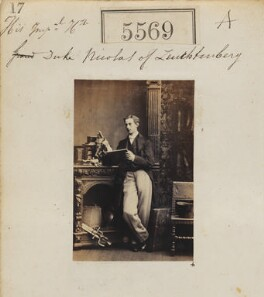 Nicolas Maximilianovitch, 4th Duke of Leuchtenberg and Prince Romanovsky, by Camille Silvy - NPG Ax55524
