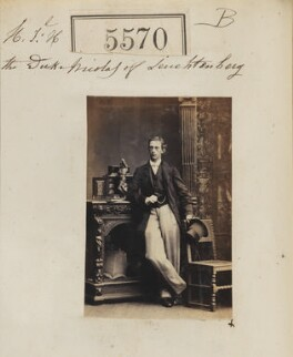 Nicolas Maximilianovitch, 4th Duke of Leuchtenberg and Prince Romanovsky, by Camille Silvy - NPG Ax55525