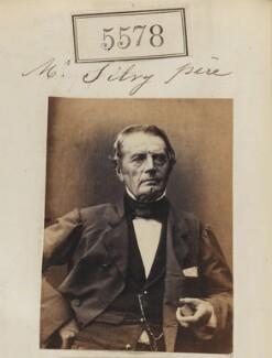 Onésipe Tullius Émile Léon Silvy, by Camille Silvy - NPG Ax55533