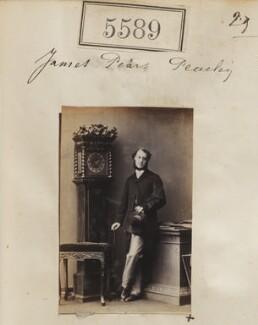 James Pearse Peachey, by Camille Silvy - NPG Ax55544
