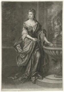 Isabella FitzRoy (née Bennet), Duchess of Grafton, by John Faber Jr, after  Sir Godfrey Kneller, Bt - NPG D34744