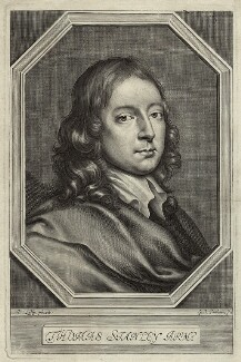 Thomas Stanley, by William Faithorne, after  Sir Peter Lely - NPG D34774