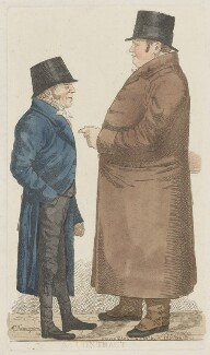 'A contract' (Mr Damington; Mr Tremloe), by and published by Richard Dighton - NPG D34673