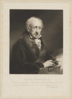 George Dance, by and published by Samuel William Reynolds, after  John Jackson - NPG D34677