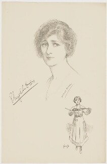 Phyllis Dare, after Charles Buchel (Karl August Büchel), and after  John Hassall - NPG D34678