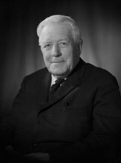 Sir Harold George Sanders, by Bassano Ltd - NPG x176930