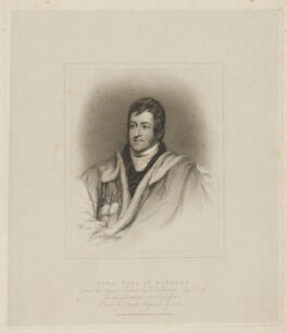 John Bligh, 4th Earl of Darnley, by Henry Meyer, published by  T. Cadell & W. Davies, after  John Wright, after  Thomas Phillips, published 18 June 1816 - NPG D34680 - © National Portrait Gallery, London