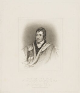 John Bligh, 4th Earl of Darnley, by Henry Meyer, published by  T. Cadell & W. Davies, after  John Wright, after  Thomas Phillips, published 18 June 1816 - NPG D34681 - © National Portrait Gallery, London