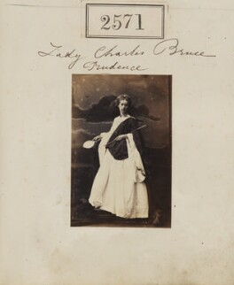 Augusta Georgiana Sophia (née Seymour), Lady Charles Brudenell-Bruce as 'Prudence', by Camille Silvy - NPG Ax51960