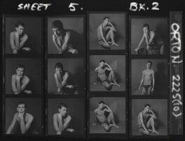 Joe Orton, by Lewis Morley, 1965 - NPG x88375 - © Lewis Morley Archive / National Portrait Gallery, London