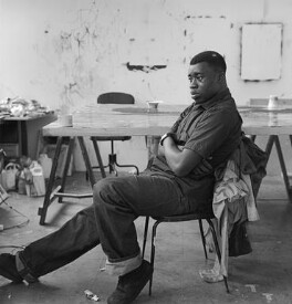 Chris Ofili, by Stephen Gill - NPG x88378