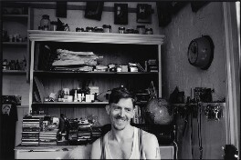 Billy Childish, by Pete Millson, August 2001 - NPG  - © Pete Millson