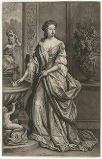 Isabella FitzRoy (née Bennet), Duchess of Grafton, by Bernard Lens (II), after  Sir Godfrey Kneller, Bt - NPG D34745