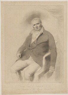 George Legge, 3rd Earl of Dartmouth, by William Evans, after and published by  William Lane - NPG D34684