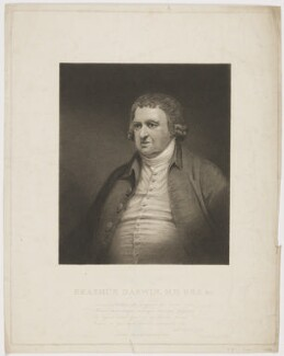 Erasmus Darwin, by James Heath, published by  J. Norman, after  J. Rawlinson, published 14 May 1804 - NPG D34687 - © National Portrait Gallery, London