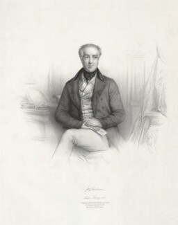 Sir James Robert George Graham, 2nd Bt, by Émile Desmaisons, printed by  Lemercier Bernard et Cie, published by  A.H. & C.E. Baily - NPG D34749