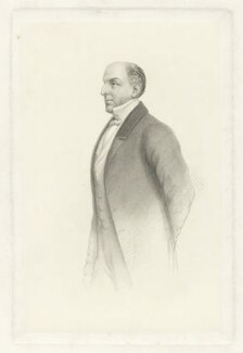 Sir James Robert George Graham, 2nd Bt, after John ('HB') Doyle, 1863 - NPG D34750 - © National Portrait Gallery, London
