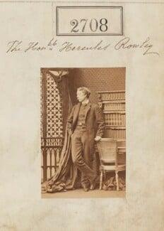 Hon. Hercules Langford Boyle Rowley, by Camille Silvy - NPG Ax52097