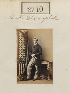 Sholto Douglas Campbell, 2nd Baron Blythswood, by Camille Silvy - NPG Ax52099