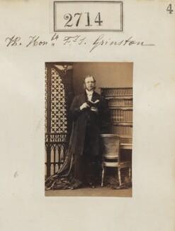 Hon. Francis Sylvester Grimston, by Camille Silvy - NPG Ax52103