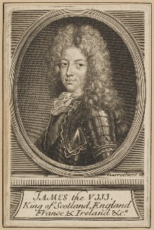Prince James Francis Edward Stuart, by Étienne Jehandier Desrochers, after  Unknown artist - NPG D34715