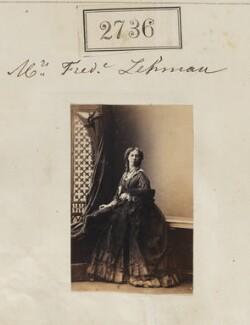 Jane Gibson ('Nina') Lehmann (née Chambers), by Camille Silvy - NPG Ax52125