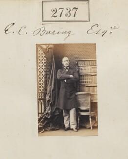 Edward Charles Baring, 1st Baron Revelstoke, by Camille Silvy - NPG Ax52126