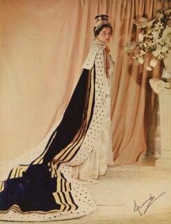Princess Alice, Duchess of Gloucester, by Madame Yevonde, 1937 - NPG x20588 - © Yevonde Portrait Archive
