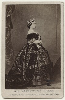 Queen Victoria, by Charles Clifford, published by  Cundall, Downes & Co - NPG x32969