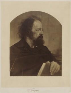 Alfred, Lord Tennyson, by Julia Margaret Cameron, May 1865 - NPG x18024 - © National Portrait Gallery, London