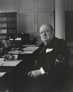 Winston Churchill, by Cecil Beaton, 1940 - NPG x40055 - © Cecil Beaton Studio Archive, Sotheby's London