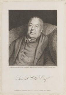 Samuel Webbe the Elder, by William Skelton, published by  James Asperne, after  William Behnes - NPG D14848