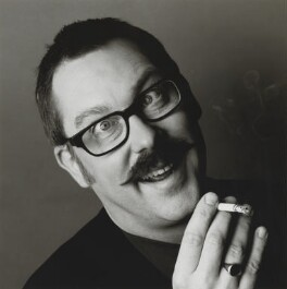Vic Reeves, by Trevor Leighton, 1999 - NPG  - © Trevor Leighton / National Portrait Gallery, London
