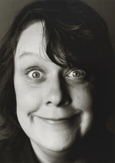 Kathy Burke, by Trevor Leighton, 1999 - NPG  - © Trevor Leighton / National Portrait Gallery, London
