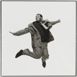 Lenny Henry, by Trevor Leighton, 1989 - NPG  - © Trevor Leighton / National Portrait Gallery, London