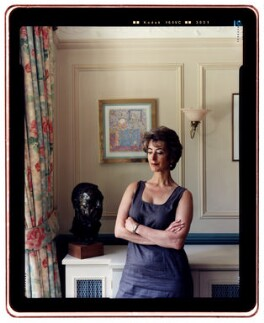 Maureen Lipman, by Tom Miller - NPG x88403