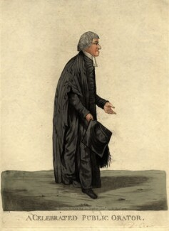 William Crowe ('A celebrated public orator'), by and published by Robert Dighton - NPG D9432