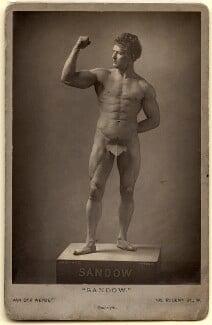Eugen Sandow, by Henry Van der Weyde - NPG x25921