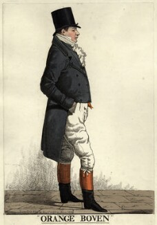 Sir John Hall ('Orange Boven'), by and published by Richard Dighton - NPG D9441