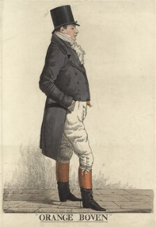 Sir John Hall ('Orange Boven'), by and published by Richard Dighton - NPG D9442